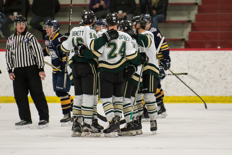 Okotoks scores 4 unanswered goals for the win!