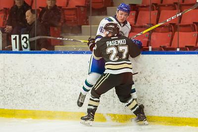 Oct 6, 2107 Calgary Canucks host the Okotoks Oilers