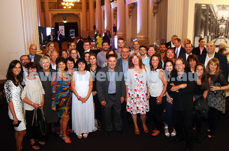 17-2-15. Australian Jewish News. 120 Years book launch at the State Library of Victoria. Staff photo. Photo: Peter Haskin