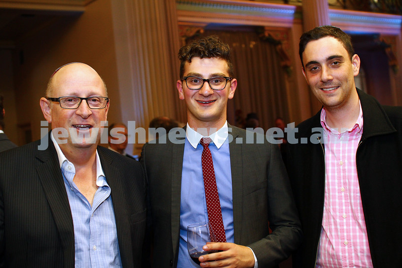 17-2-15. Australian Jewish News. 120 Years book launch at the State Library of Victoria. Photo: Peter Haskin