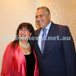 AJN 120th. Nitza Lowenstein & Joe Hockey.