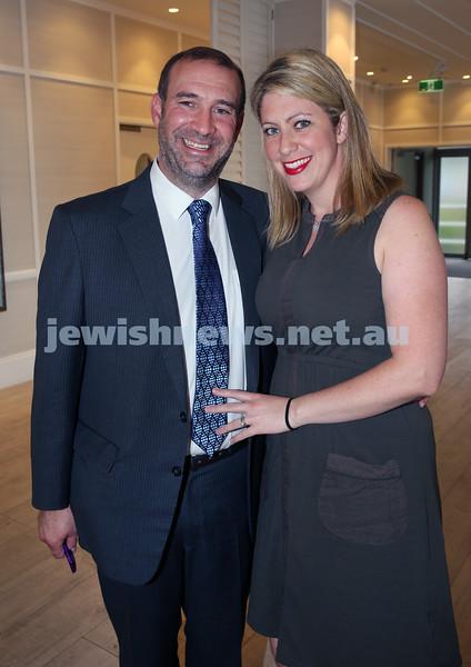 AJN 120th. Editor Zeddy Lawrence and wife Adina.