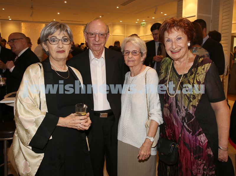 AJN 120th. Susan Bures, Mike Golland, Betty Golland, Margaret Gutman.