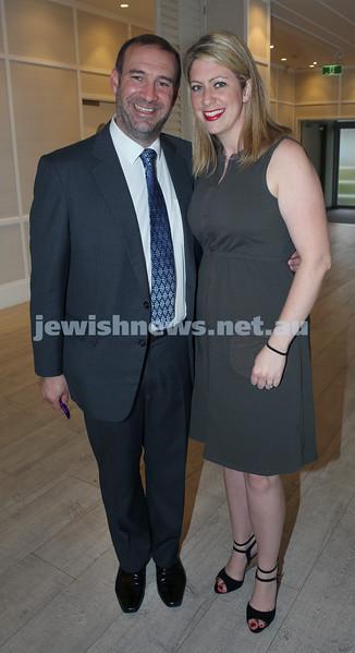 AJN 120th. Editor Zeddy Lawrence & wife Adina.