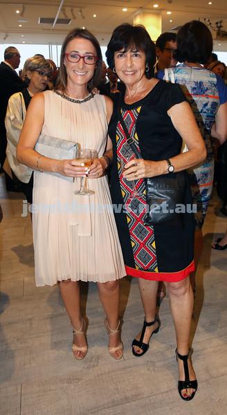 AJN 120th. Rachele Schonberger & Marilyn Immerman.