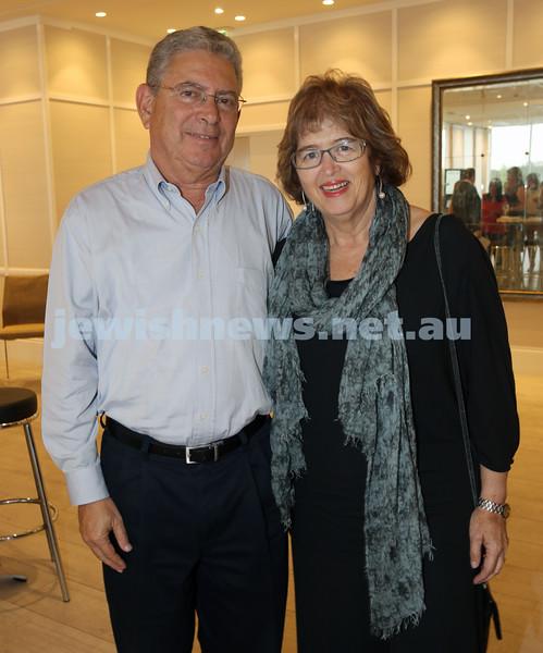 AJN 120th. Yigal Shapir with wife Daffy.