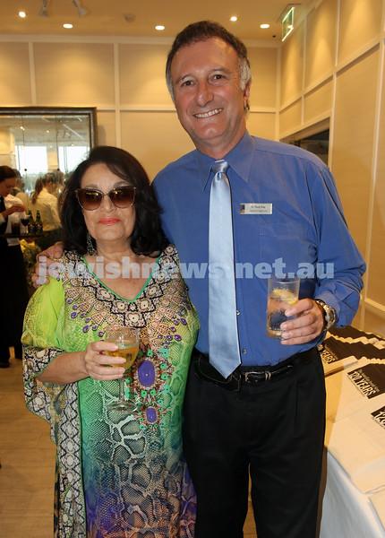 AJN 120th. Waverley dep.Mayor Tony Kay and wife Camille Fox.