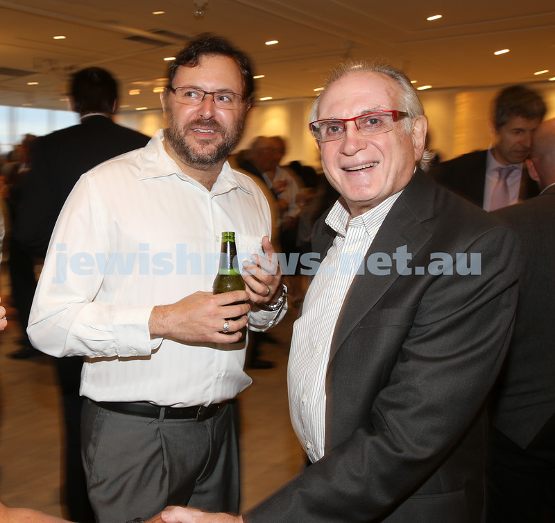 AJN 120th. Gareth Narunsky & Henry Benjamin.