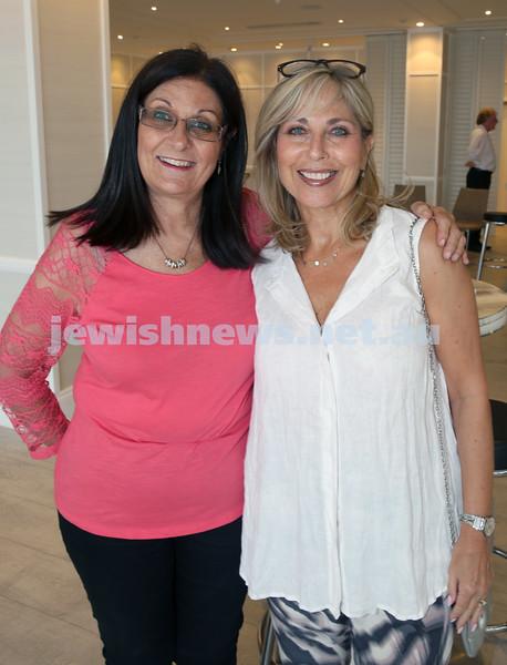 AJN 120th. Joyce Wainstein and Margi Fain.