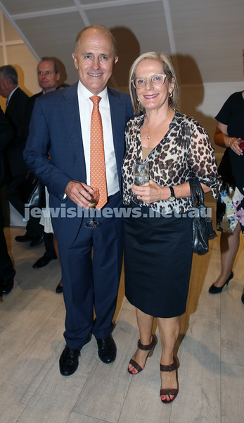 AJN 120th. Malcolm & Lucy Turnbull.