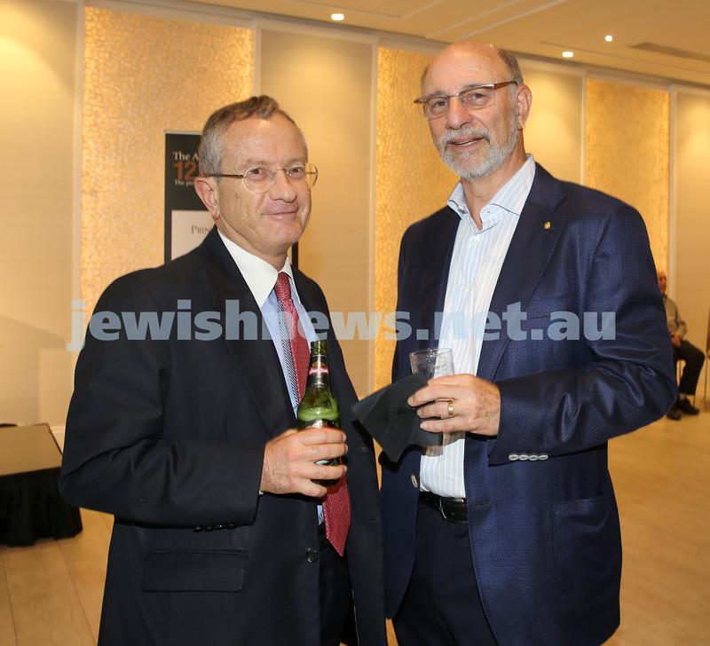 AJN 120th. David Knoll & Peter Philippsohn.