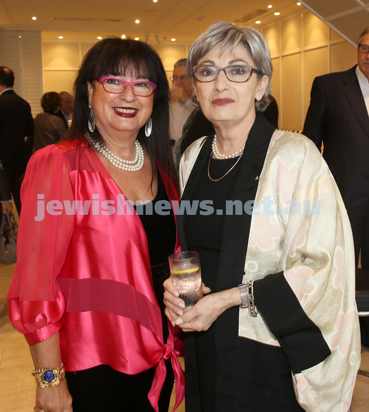 AJN 120th. Nitza Lowenstein & Susan Bures.