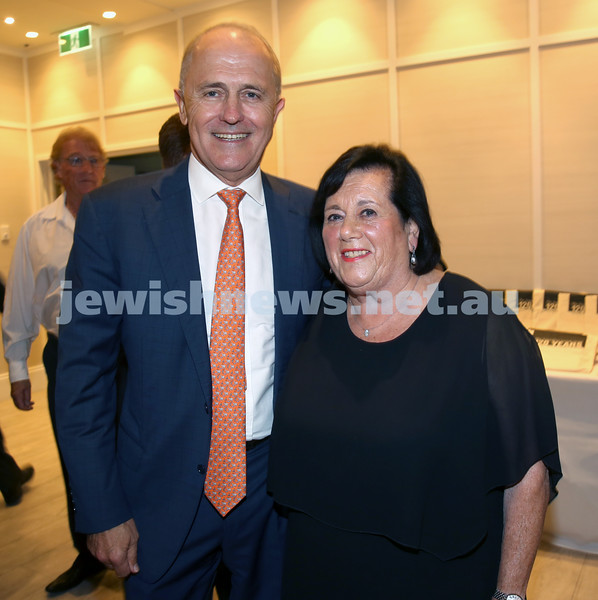 AJN 120th. Malcolm Turnbull & Myrna Kangisser.