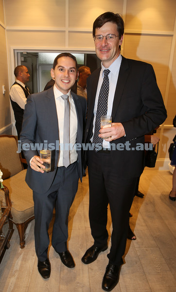 AJN 120th. Cr David Ossip & Jonathon O'Dea MP.