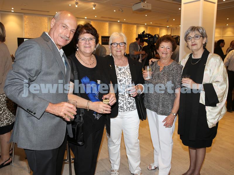 AJN 120th. Peter Klein, Gloria Issacs, Benita Weinberg, Railee Michelin ,Susan Bures.
