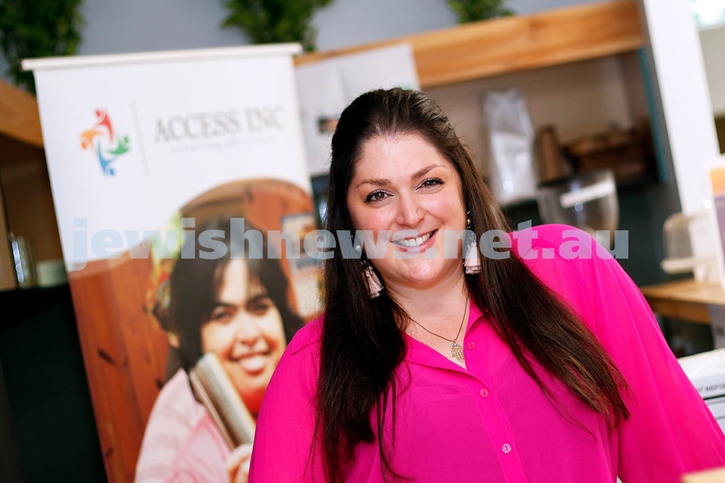 1-3-19. Sharon Malecki. CEO of Access Inc. Photo: Peter Haskin