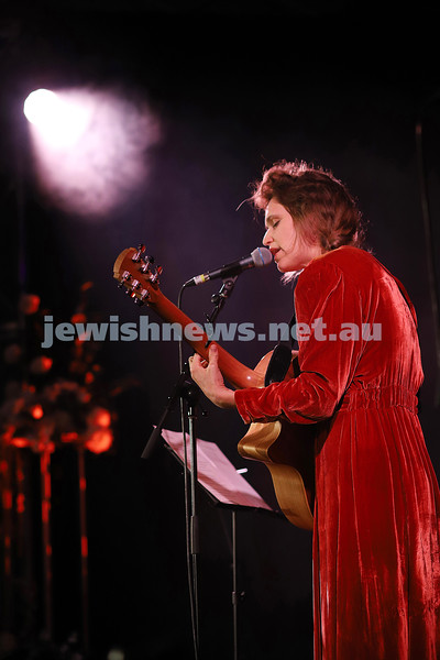 8-4-21. FOJAM. Uprising: Songs of Resistance starts at the close of Yom Hashoah (Holocaust Remembrance and Heroism Day) celebrating resistance through song and story, and takes place on the land of the Boon Wurrung people of the Kulin Nation.. Emily Lubitz. Photo: Peter Haskin