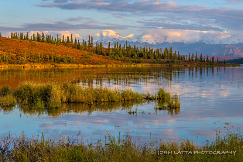 Alaska Range from Wonder Lake