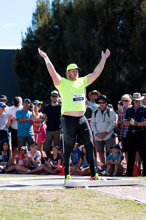 Auckland Track Challenge Shot Put