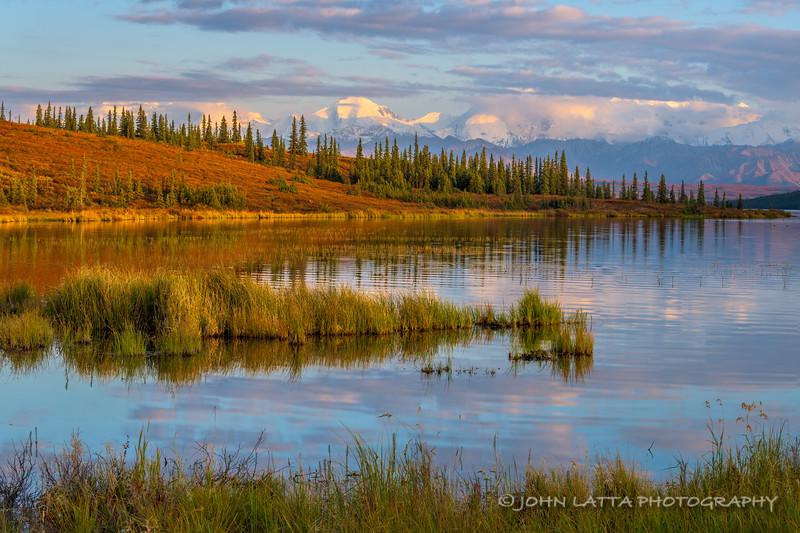 Alaska Range from Wonder Lake
