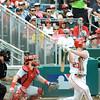 Daniel Murphy at bat