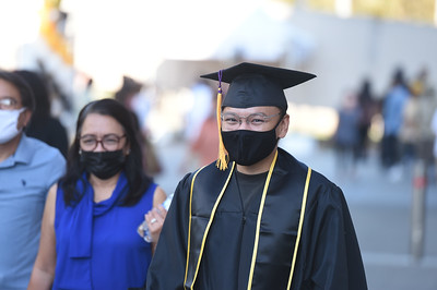 College of Arts and Letters Commencement Ceremony, Class of 2020. Photo by Robert Huskey / Cal State LA