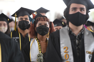 College of Arts and Letters Commencement Ceremony, Class of 2021. Photo by Robert Huskey / Cal State LA