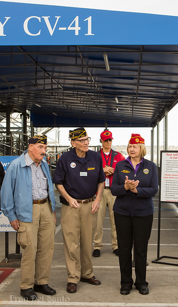 American Legion Top Brass on Midway 2017