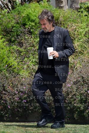 Al Pacino Visits A Friend