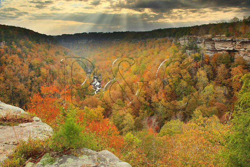 AL FORT PAYNE LITTLE RIVER CANYON NATIONAL PRESERVE CANYON VIEW OVERLOOK OCTJJ_MG_6133bMbmmW