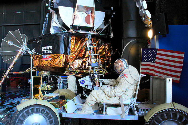 AL HUNTSVILLE U S  SPACE AND ROCKET CENTER LUNAR ROVER LUNAR LANDER OCTJJ_MG_5872MbmmW