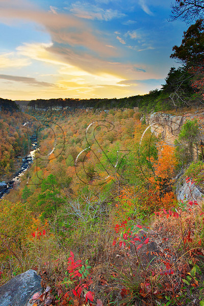 AL FORT PAYNE LITTLE RIVER CANYON NATIONAL PRESERVE WOLF CREEK OVERLOOK OCTJJ_MG_0086cMbmmW
