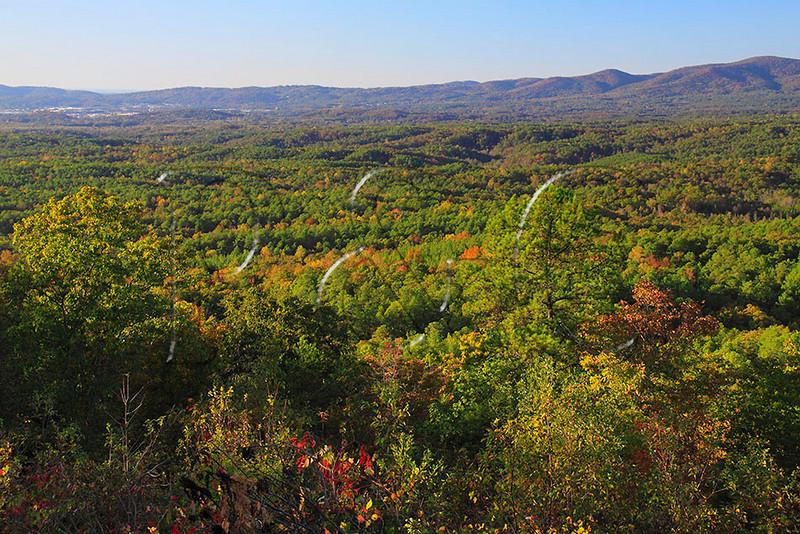 AL DELTA TALLADEGA NATIONAL FOREST NEAR CHEAHA STATE PARK SKYWAY MOTORWAY OVERLOOK OCTJJ_MG_4323MbmmW