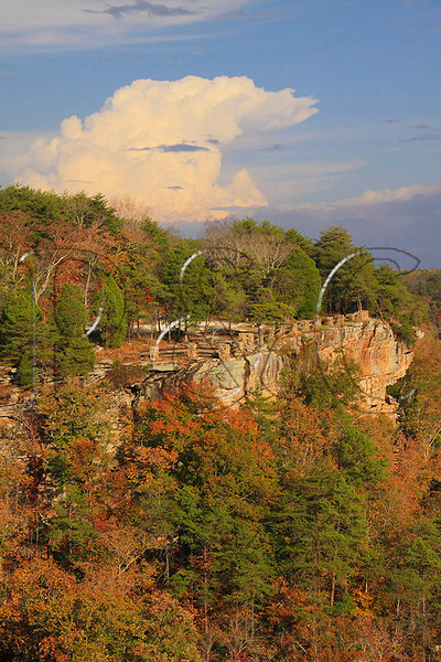 AL FORT PAYNE LITTLE RIVER CANYON NATIONAL PRESERVE CANYON VIEW OVERLOOK OCTJJ_MG_3972MbmmW
