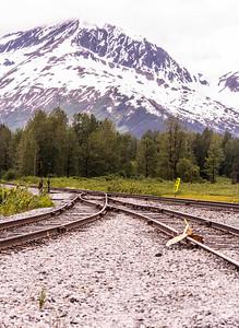 Along the Anchorage-Seward Rd