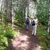Don, Terri and I hiking in Skagway