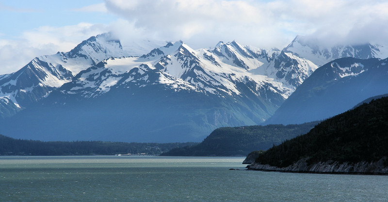 Town of Haines, one of a few accessible to the rest of the world by road