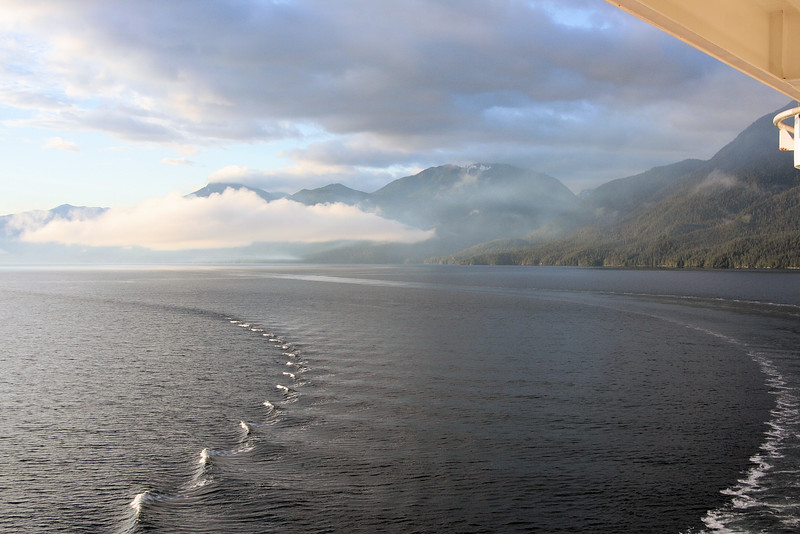 Ship's Wake, Inside Passage