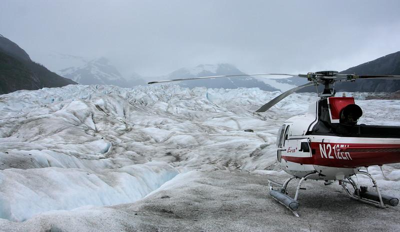 On Norris Glacier