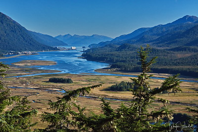 View of Juneau, Alaska & Grand Princess