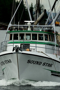 The Sound Star outbound for fish