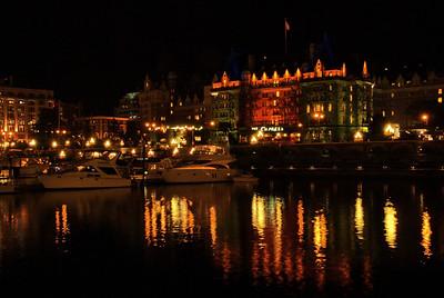 Empress Hotel reflections