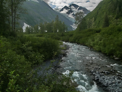 Glacier stream near Soldotna, AK