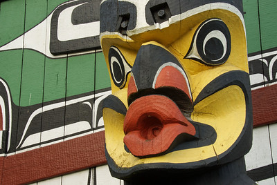 Totem carvings