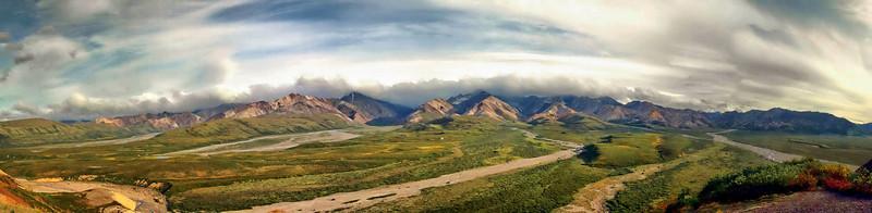 Polychrome Pass panorama