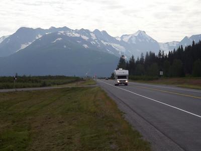 Highway to the Kenai Penisula