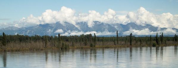 Chugach Range in Alaska