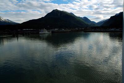 Juneau port departure