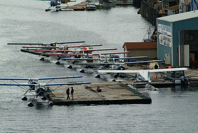 Alaska's taxi service, the small float plane can take you safely into the wilderness or some remote lodge.