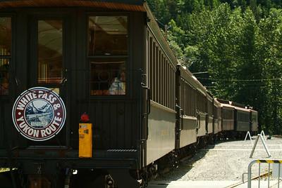 White Pass & Yukon Route Railroad Trip